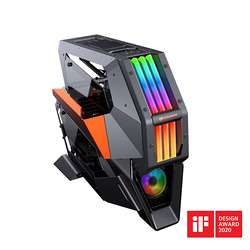 BOITIER PC GAMING CONQUER 2 METAL RGB