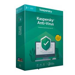 LOGICIEL KASPERSKY ANTIVIRUS 2020 3 POSTES 1 AN