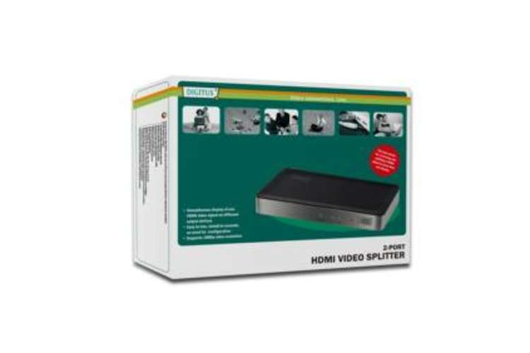 SWITCH DIGITUS HDMI 1 ENTREE 2 SORTIES ds41300-2