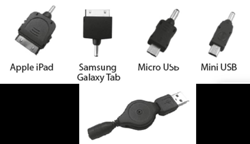 KIT DE CONNECTEURS POUR TABLETTES 1 X USB + 4 CONNECTEURS 0