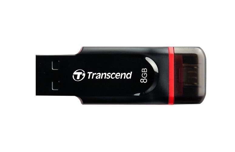 CLE USB 8G SERIE 340 NOIR USB 2.0 OTG 0