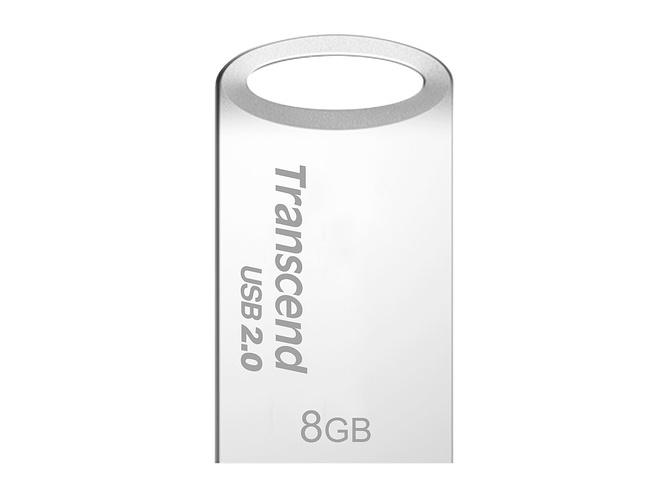 CLE USB 8 GO SERIE 510 ARGENT USB 2.0 SANS CAPUCHON FORMAT MINI 0