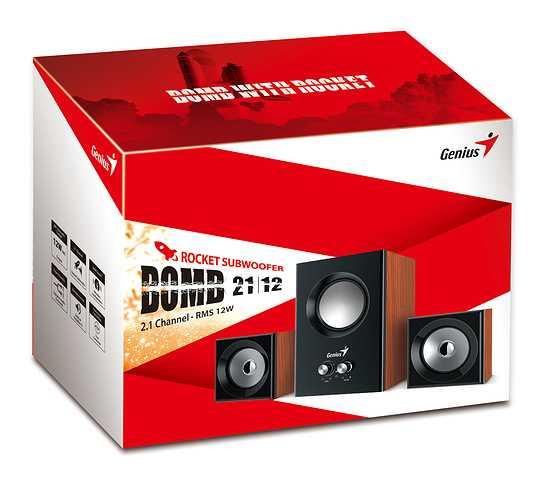 HAUT-PARLEURS SW-2.1 370 BOIS SYSTEME 2.1 sw-2.1375woodbox3d