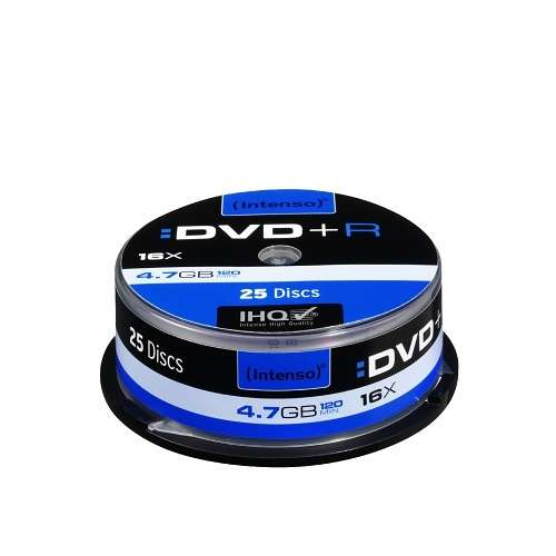 DVD+R 4.7 GO (16X) SPINDLE (X25) 0