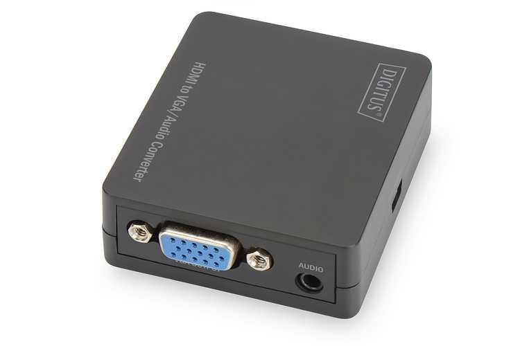 CONVERTISSEUR AUDIO FULL HDMI / VGA COMPRENANT LA TRANSMISSION AUDIO- RESOLUTION VIDEO 1080 PIXELS MAX ds40310-2