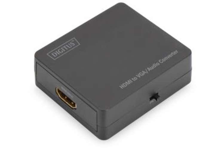 CONVERTISSEUR AUDIO FULL HDMI / VGA COMPRENANT LA TRANSMISSION AUDIO- RESOLUTION VIDEO 1080 PIXELS MAX 0