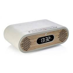 LOT de 2 RADIOs REVEIL ROSIE LEE DAB / DAB+ /FM 10 WATTS - GRIS VERT / CHÊNE