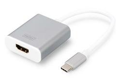 ADAPTATEUR USB DIGITUS - HDMI 4K USB 3.0 TYPE C