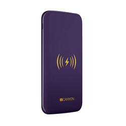 BATTERIE 8000MAH INDUCTION + MICRO USB /TYPE C VIOLET