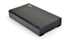 """BOITIER EXTERNE POUR HDD 3.5"""" SATA III ET IDE NOIR USB3.0"""