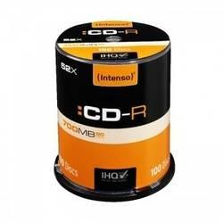 CD-R 80MN 52 X 700MB CAKEBOX (X100)