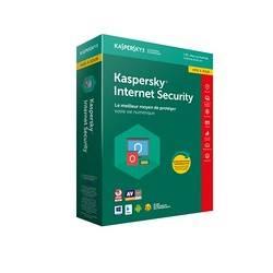 LOGICIEL INTERNET SECURITY 2018 1 UTILISATEUR 1AN