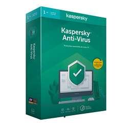 LOGICIEL KASPERSKY ANTIVIRUS 2020 1 POSTE 1 AN