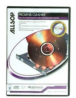 CD DE NETTOYAGE PROLENS POUR CD/DVD ET CONSOLE DE JEUX
