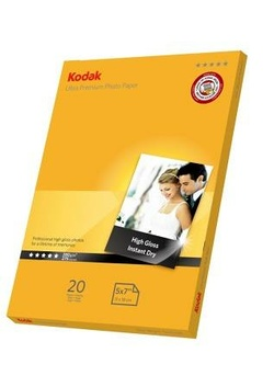 PAPIER PHOTO ULTRA PREMIUM 5 x 7 BRILLANT 280G 20 FEUILLES