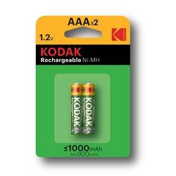 PILES RECHARGEABLES NI-MH 1000 MAH ALCALINE LR03 AAA X 2