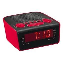 RADIO REVEIL AR314B FM PLL ROUGE