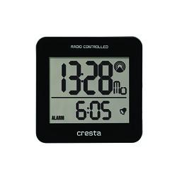 REVEIL LCD BLA210 REGLAGE HEURE AUTOMATIQUE NOIR