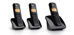 TELEPHONE C403 CLASSIQUE TRIOSET BLACK + MAIN LIBRE*