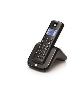 TELEPHONE SANS FIL T201 DECT ESSENTIEL NOIR