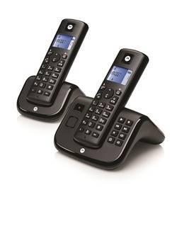 TELEPHONE T212 ESSENTIEL DECT DUOSET BLACK + REPONDEUR
