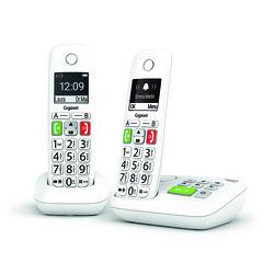 TELEPHONES E290 DUO SANS FIL TOUCHES LARGES AVEC REPONDEUR