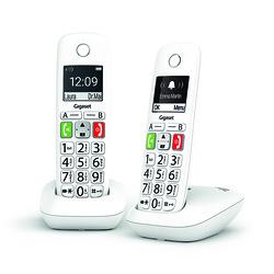 TELEPHONES E290 DUO SANS FIL TOUCHES LARGES