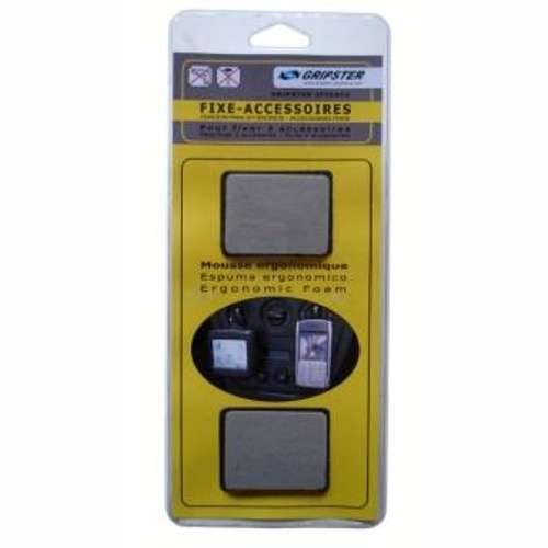PACK GRIPSTER ACC - COMPRENANT 2 FIXES ACCESSOIRES 65 X 45 MM 0