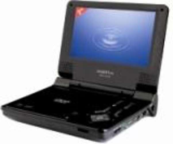 LECTEUR DE DVD PORTABLE SIGMATEK LCD-TFT 7 POUCES * 0