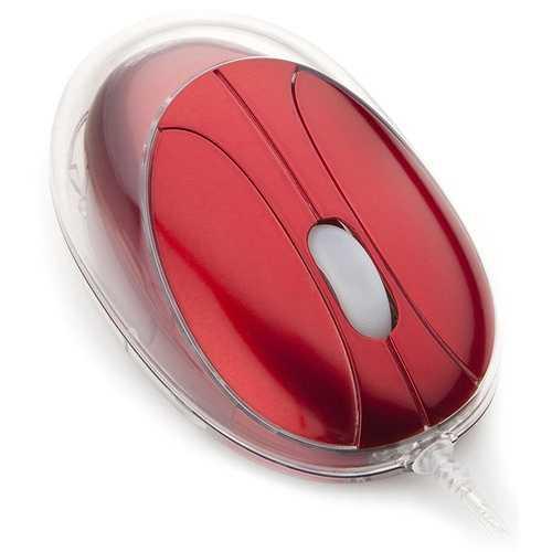 MINI SOURIS VIPMOUSERED FILAIRE USB ROUGE 0