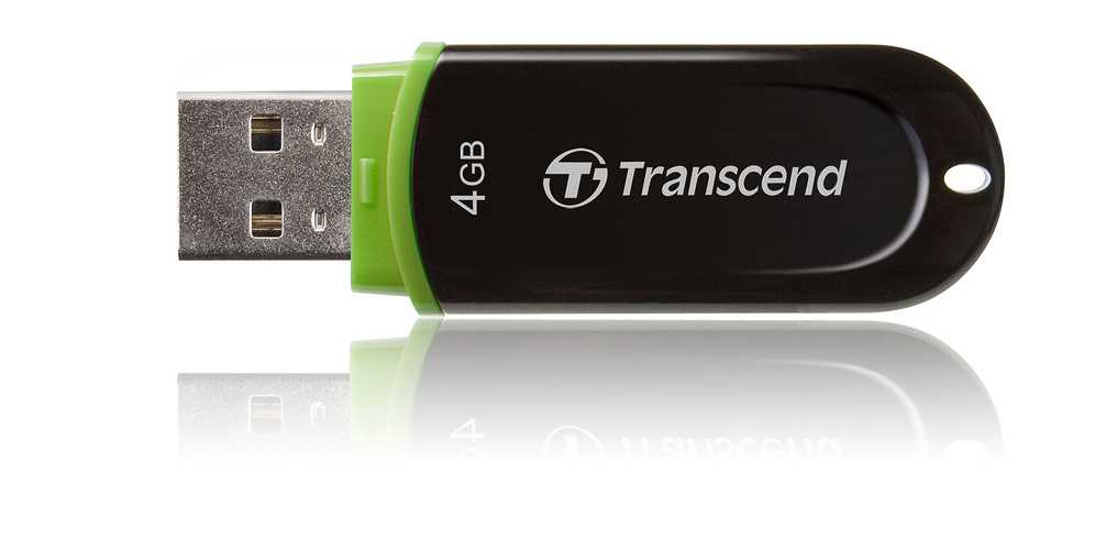 CLE USB 4GO SERIE 300 NOIR / VERT USB 2.0 ULTRA SPEED jf3004gb02