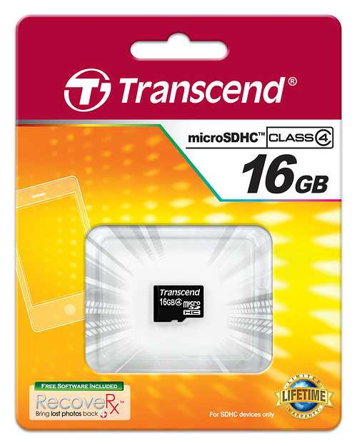 CARTE MEMOIRE MICRO SECURE DIGITAL 16GO CLASS 4 0