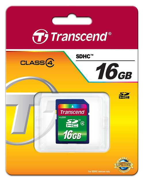 CARTE MEMOIRE SECURE DIGITAL 16GO CLASSE 4 0