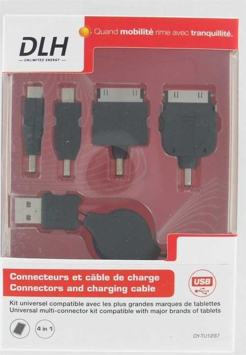 KIT DE CONNECTEURS POUR TABLETTES 1 X USB + 4 CONNECTEURS dytu1297-2