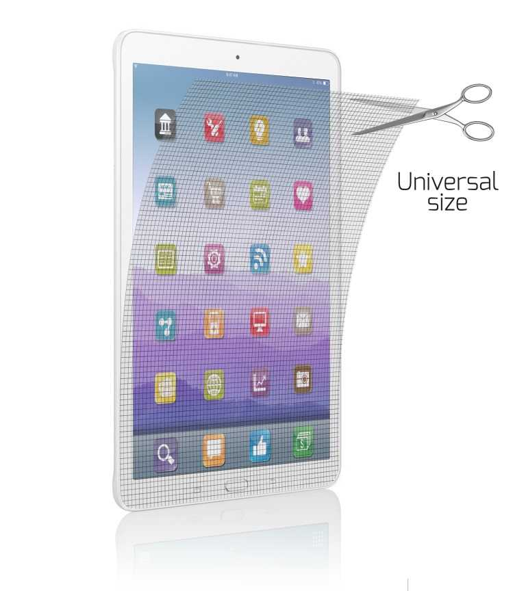 film de protection ecran tablette 10 1 39 39 universel noriak. Black Bedroom Furniture Sets. Home Design Ideas