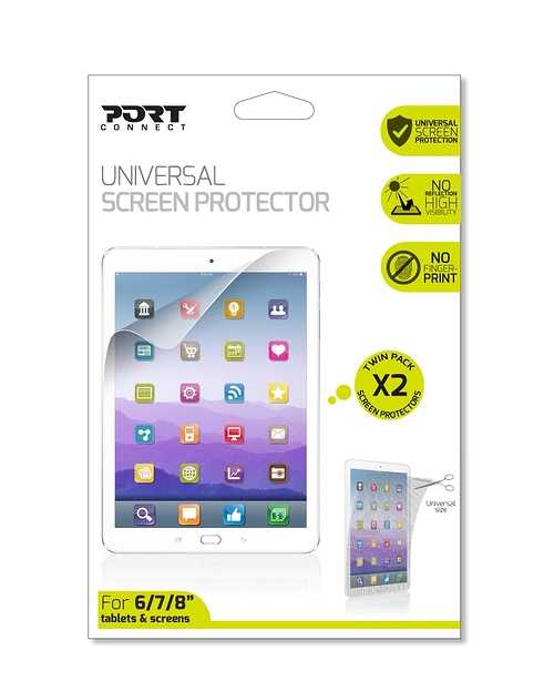 FILM DE PROTECTION ECRAN TABLETTE 7'''' UNIVERSEL 180642-frontpackaging