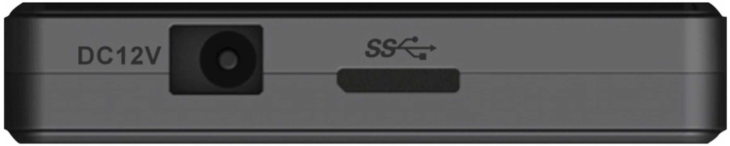 HUB 4 PORTS USB 3.0 NOIR + ALIMENTATION tshub3k-3