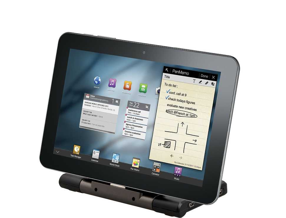 STATION ET BATTERIE DE CHARGE NOMADE POUR SAMSUNG GALAXY TAB dybe1522