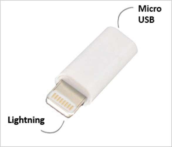 ADAPTATEUR MICRO USB VERS LIGHTNING POUR IPHONE ET IPAD 0