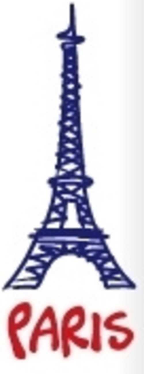 CLE USB 8 GO SERIE 370 BLANC GLOSSY USB 2.0 LOGO PARIS logoparis