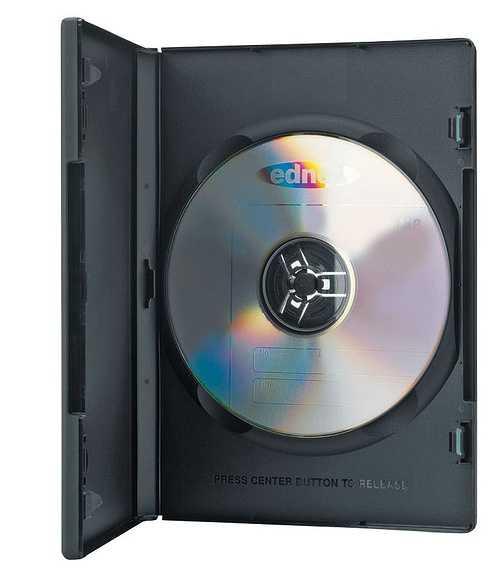 PACK DE 10 BOITIERS PLASTIC DVD SINGLE CASE 0