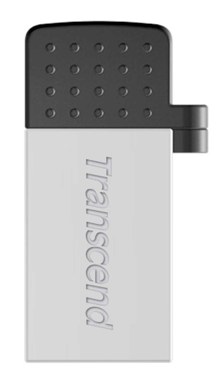 CLE USB 8 GO SERIE 380 SILVER USB 2.0 + OTG POUR TABLETTE ts8gjf380s
