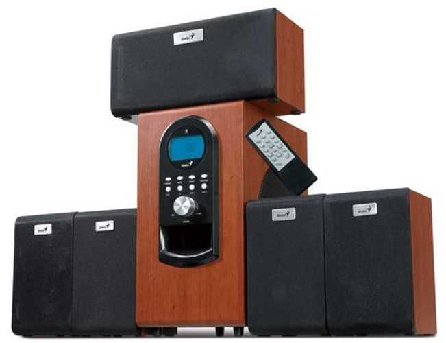 HAUT-PARLEURS SW-HF5.1 6000 BOIS SYSTEME 5.1 PUISSANCE 200W RMS 0