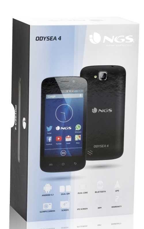SMARTPHONE ODYSEA ANDROID 4 .2 4''''IPS 4GB WIFI 5MPIXELS DUAL SIM odyseablack-4