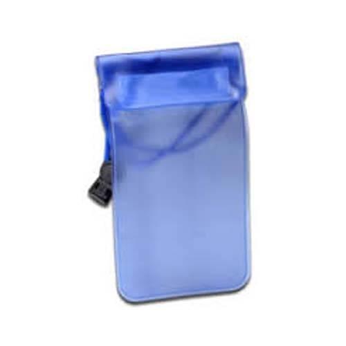ETUI ETANCHE POUR SMARTPHONE PVC BLEU TAILLE 0