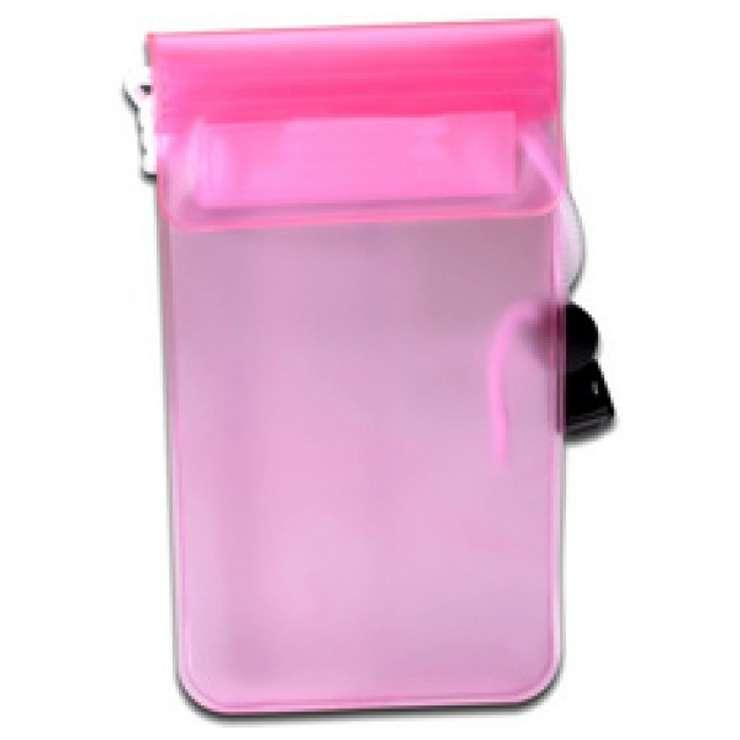 ETUI ETANCHE POUR SMARTPHONE PVC ROSE 0