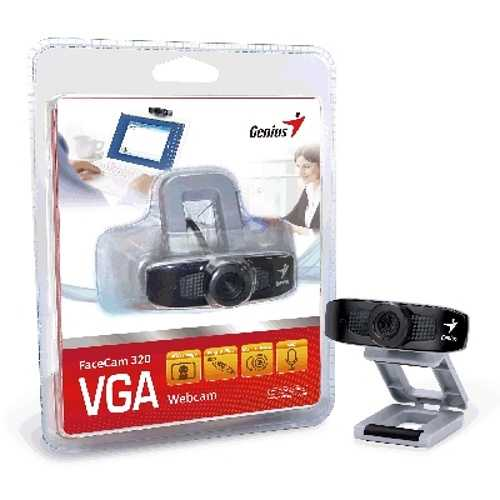 CAMERA FACECAM 320 GRIS/NOIR 300 KPIXELS USB PC 32200012100-4