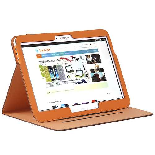 ETUI SAMSUNG GALAXY TAB 4 7'''' ORANGE taxsgt013-1