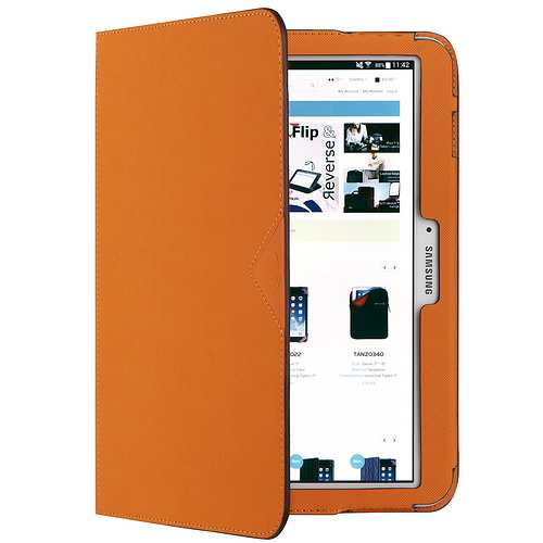 ETUI SAMSUNG GALAXY TAB 4 7'''' ORANGE 0