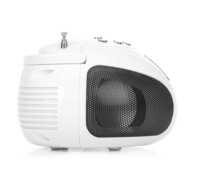 RADIO FM NUMERIQUE ANTZZ BLANC MP3/WMA / USB/SD/MMC antzzw-4